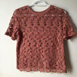Cute crochet shirt